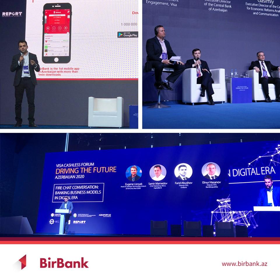 Visa Cashless Forum BirBank